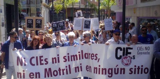Manifestación CIES NO Motril
